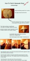 Rose Origami Tutorial Pt. 2 by CrimsonxReign