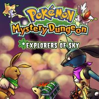 Mystery Dungeon my cover by Witbik