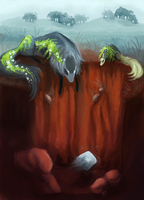 Onerous Stone- Waterways quest by The-Monster-Shop