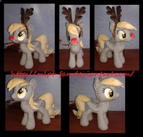 15 inches DERPY HOOVES the reindeer by calusariAC