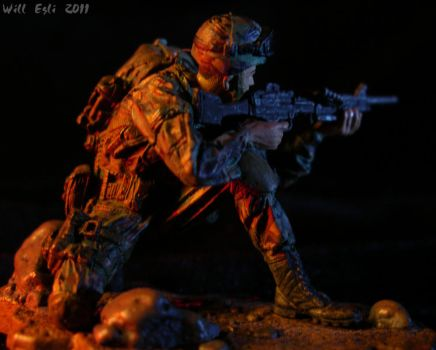 Army Ranger on the hunt by SurfTiki
