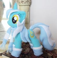 Lyra Heartstrings With Accessories Custom Plush by ponypassions