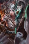 Ciri The witcher by MOIDUKDUM