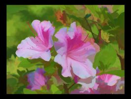 Painted Spring Flowers by Misty2007