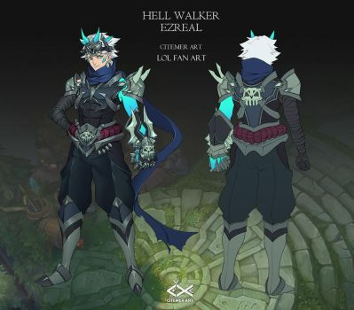 Hell walker Ezreal by citemer