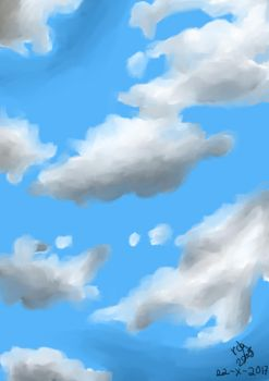 Clouds -  practice by rcg3005