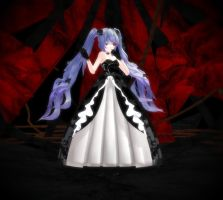 TDA Black Rose Hagane Miku (DL) by Metalmiku2