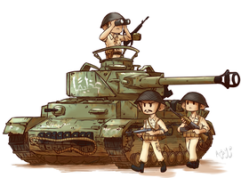 Syrian Panzer IV by Arjay-the-Lionheart