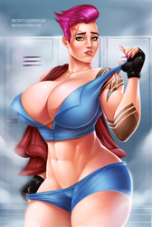 Zarya by Ange1Witch