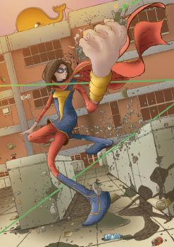 Ms. Marvel: Kamala Khan by lucianosalles