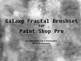Galaxy Fractal Brushes for PSP by calthyechild