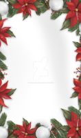 Bloomy Christmas (custom box background) by LacrimareObscura