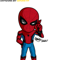 Your Friendly Neighborhood Spider-Man by mporkyp