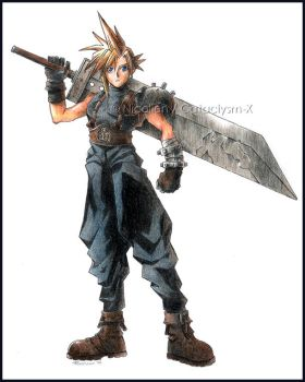 Cloud Strife revised by Cataclysm-X
