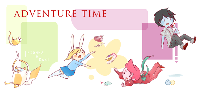 Fionna and Cake by Torchh