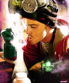 Breaking Bad - Jesse Pinkman by p1xer