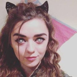 Maisie Williams is a Good Little Hypno-Kitty by hypnospects