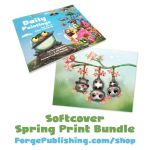 DAILY-Spring-Print-Bundle-Softcover-Cherry-Plossum by Cryptid-Creations