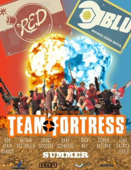 Team Fortress Movie Poster by GojiBob
