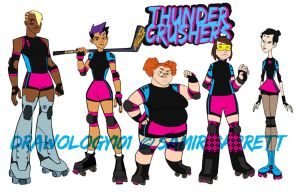 Thunder Crushers by sketchmasterskillz