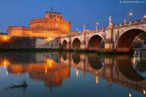 Castel Sant'Angelo by SimonePomata