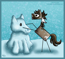 Do You Want to Build a Snowhorse? by Seeburglar