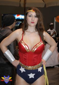 Wonder Woman Cosplay - C2E2 2013 by ConMenWebSeries