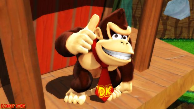 (MMD Model) Donkey Kong Download by SAB64