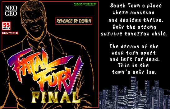 Fatal Fury Final by SEEProduction
