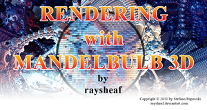 Rendering with Mandelbulb 3D by raysheaf