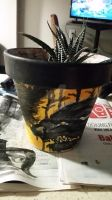 My Wolf Flower Pot (Second Side)