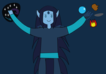 Adventure Time OC: Isrrael The Universal Wizard 5 by Universe-Ocean-Blue