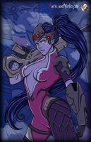 Widow Maker ~ OverWatch by MarieJaneWorks