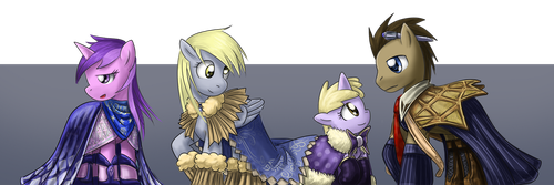 Capes in Hoove's Style by saturnspace