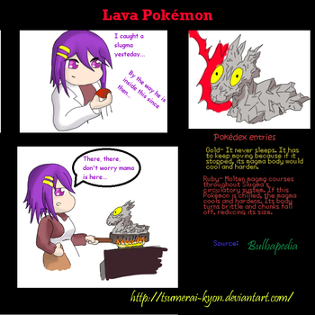 Lava Pokemon 1 by Tsumerai-Kyon