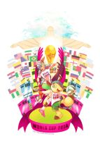 World Cup 2014 is coming! by Reenze-NK