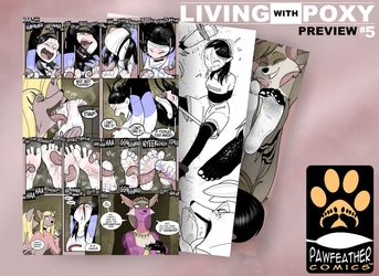Living with Poxy #5 Preview by PawFeather