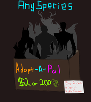 Adopt-a-pal (Open customs + Raffle) by AndroidAss