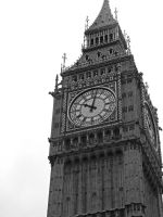 Back to London - Big Ben tower by AmyKPhotos