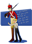 England The Steadfast Tin Soldier -Request- by aileenarip