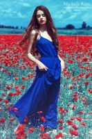Into the Wild Red 11 by Michela-Riva