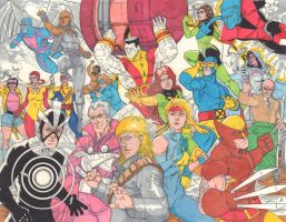 X80s-The Uncanny X-Men by SB-Artworks