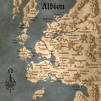 Fable Combined Illuminated Map by IsBreaLiomCaife