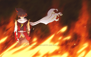 BEYBLADE - Flames by SlumberPoppy