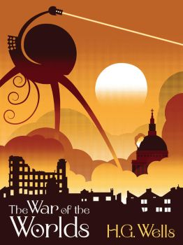War of the Worlds Screenprint by McJade