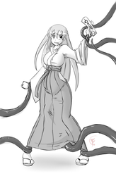 What happens to bad shrine maidens o__o by FlockChan