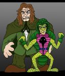 Mr. Hyde and Cobra by Lordwormm
