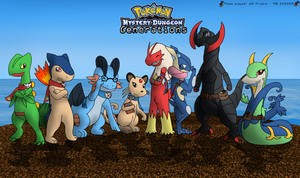 Pokemon Mystery Dungeon: Generations by lobo91