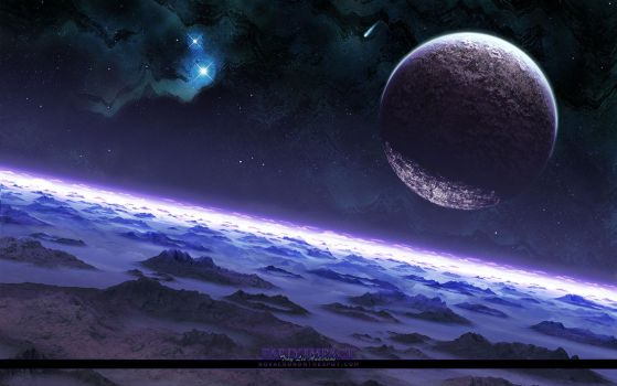 Early Impact - Widescreen by Novacron