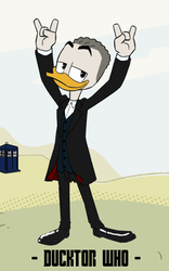 Ducktor Who - 12th Ducktor by JStCPatrick